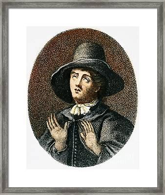 George Fox (1624-1691) Framed Print by Granger