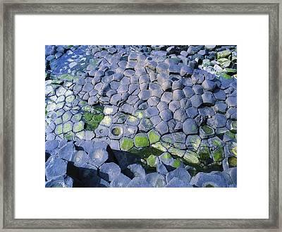 Giants Causeway, Co Antrim, Ireland Framed Print