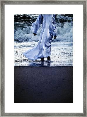 Girl At The Sea Framed Print by Joana Kruse