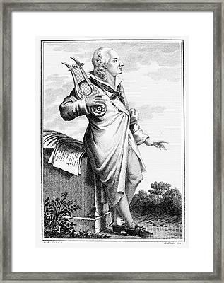 Gotthold Ephraim Lessing Framed Print by Granger
