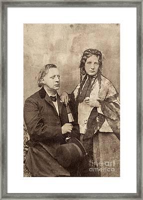 Henry Ward Beecher Framed Print by Granger