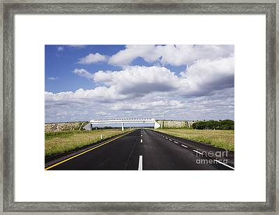 Highway Framed Print by Jeremy Woodhouse