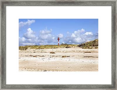 Hoernum - Sylt Framed Print by Joana Kruse