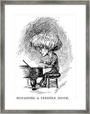 Ignace Jan Paderewski Framed Print by Granger