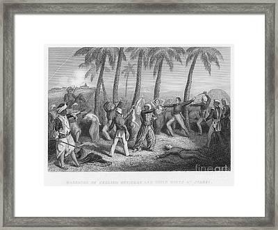 India: Sepoy Rebellion, 1857 Framed Print by Granger