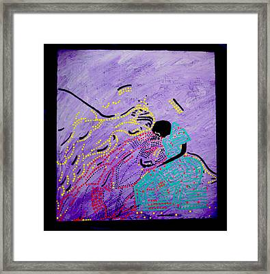 Jesus And Mary Framed Print by Gloria Ssali