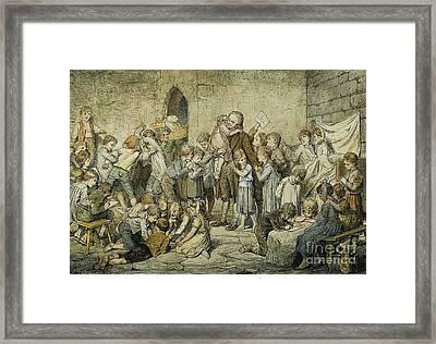 Johann Pestalozzi Framed Print by Granger