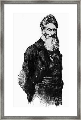 John Brown (1800-1859) Framed Print