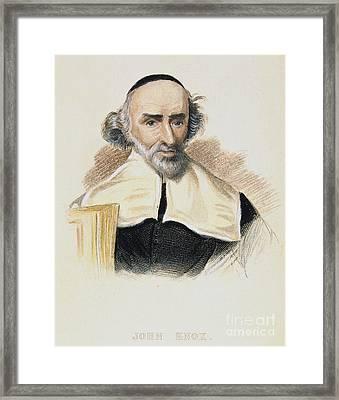John Knox (1513-1572) Framed Print