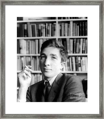 John Updike (1932-2009) Framed Print
