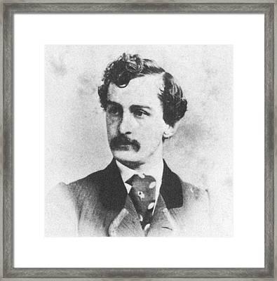 John Wilkes Booth, American Assassin Framed Print