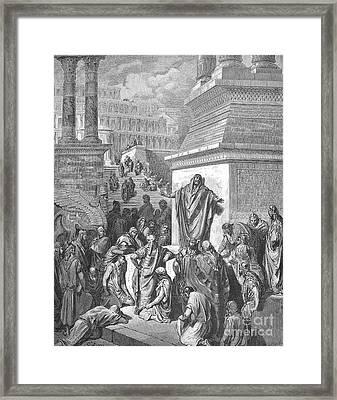 Jonah Framed Print by Granger