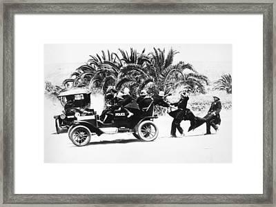 Keystone Kops Framed Print