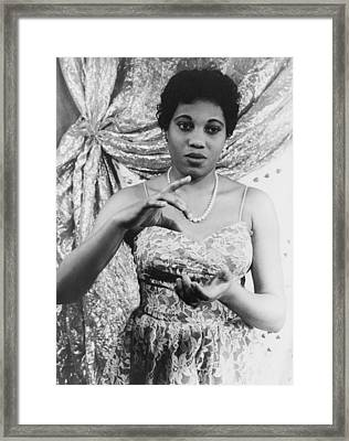 Leontyne Price B. 1927, African Framed Print by Everett