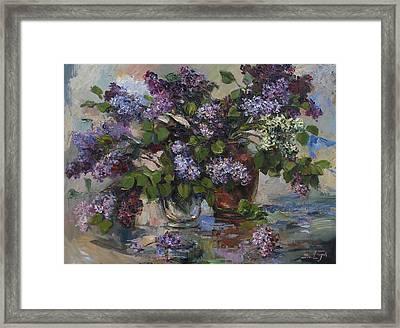 Lilacs Framed Print by Tigran Ghulyan