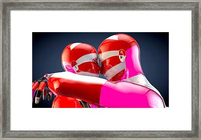 Lovers Framed Print