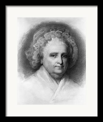 Martha Dandridge Custis Washington Framed Prints