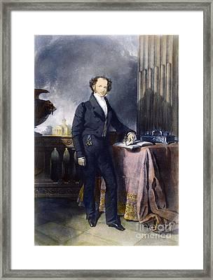 Martin Van Buren Framed Print
