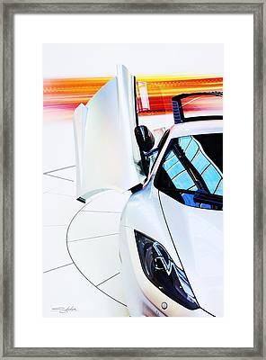 Mclaren Mp4-12c Framed Print