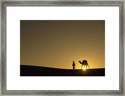 Merzouga, Morocco Framed Print by Axiom Photographic