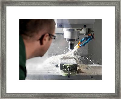 Metalwork Framed Print