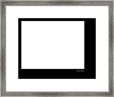 4 Minutes And 33 Seconds Homage To John Cage Framed Print by Xoanxo Cespon