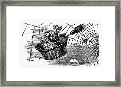 Mother Goose Framed Print by Granger