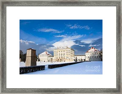 Nymphenburg Palace  Framed Print by Andrew  Michael