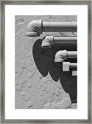 Pipes Framed Print by Robert Ullmann