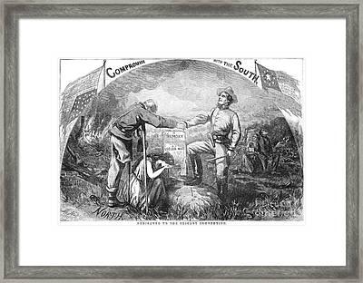 Presidential Campaign, 1864 Framed Print by Granger