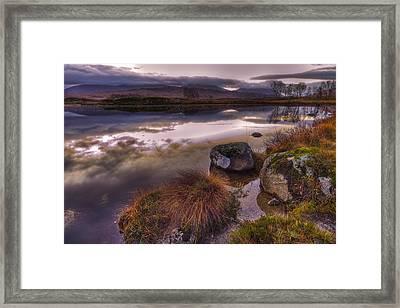 Rannoch Moor Glencoe Scotland Framed Print by Gabor Pozsgai