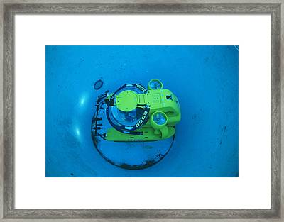 Research Submarine Framed Print by Alexis Rosenfeld