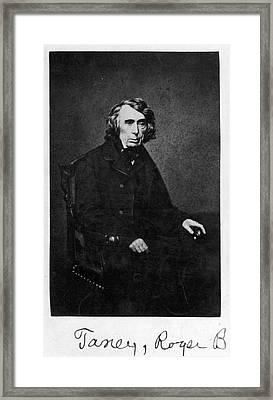 Roger B. Taney (1777-1864) Framed Print by Granger