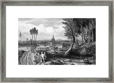 Samuel Johnson (1709-1784) Framed Print by Granger