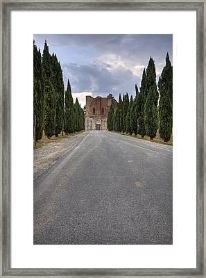 San Galgano Framed Print by Joana Kruse