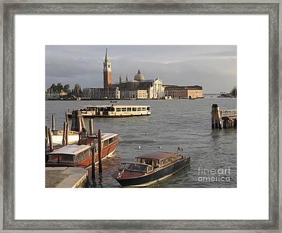 San Giorgio Maggiore. Venice Framed Print