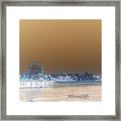 Santa Monica Framed Print