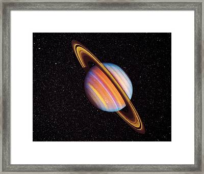 Saturn Framed Print by Nasa