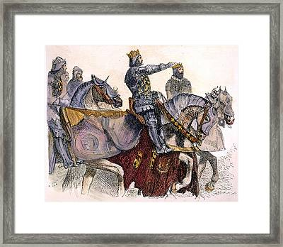 Shakespeare: King Henry Iv Framed Print