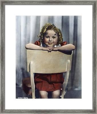 Shirley Temple (1928- ) Framed Print