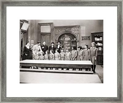 Silent Still: Children Framed Print by Granger