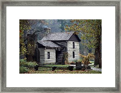 Spring Mill State Park - Indiana Framed Print by Jack R Brock
