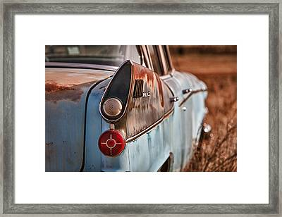 Studebaker President Framed Print by Richard Steinberger