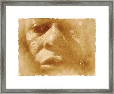 Survivor Framed Print by Beto Machado