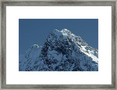Tatra Mountains Winter Scenery Framed Print by Waldek Dabrowski