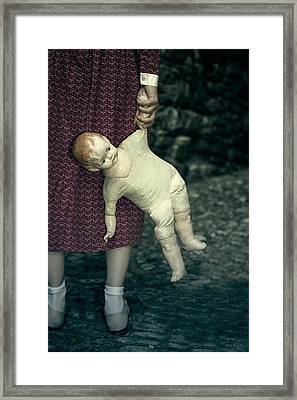 The Doll Framed Print by Joana Kruse