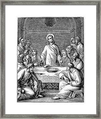 The Last Supper Framed Print by Granger