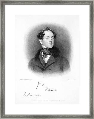 Thomas Moore (1779-1852) Framed Print by Granger