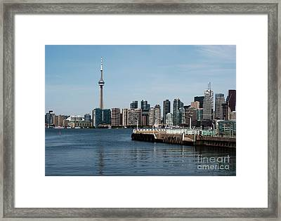 Toronto Skyline Framed Print by Blink Images