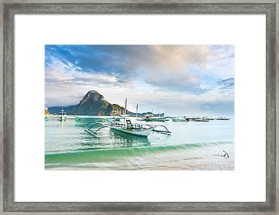 Tropical Lagoon Framed Print by MotHaiBaPhoto Prints